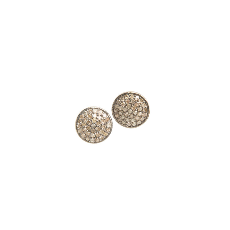 Everyday Diamond Circle Stud Earrings, Grande