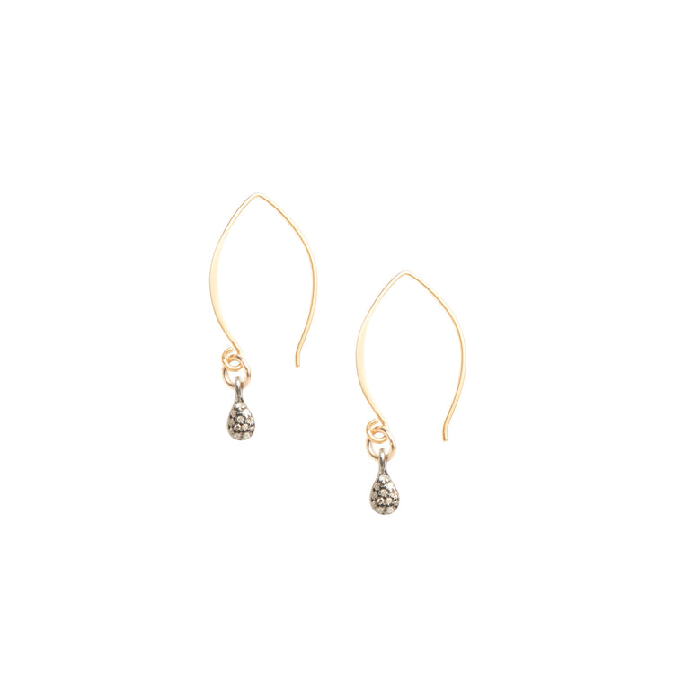 Everyday Diamond Teardrop Earrings