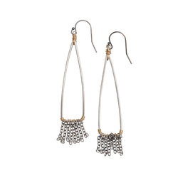 Small Fringe Drop Earrings