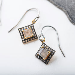 Limited Edition Gemstone and Diamond Earrings
