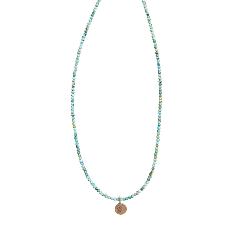 Small Turquoise Wanderlust Necklace