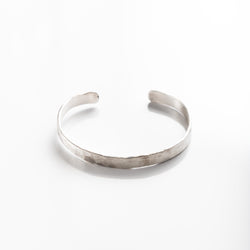 Small Hammered Metal Cuff