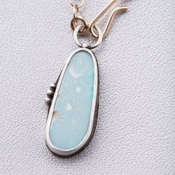 Australian Opal Necklace on Delicate 14k Gold Filled Chain