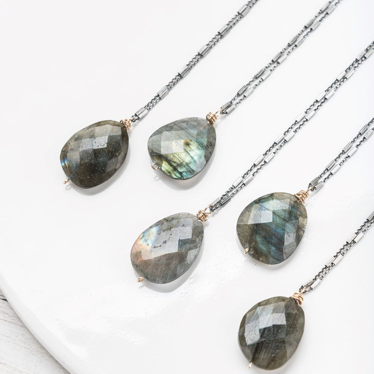 Labradorite Limited Edition Nugget Necklace