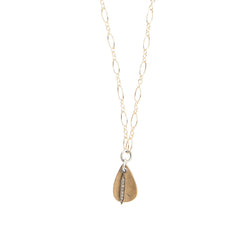 Everyday Diamond Small Spike Necklace in Gold