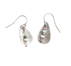 Teardrop Sedona Mix Earrings in Sterling Silver