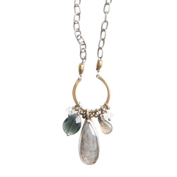 Pacific Coast Gemstone Necklace