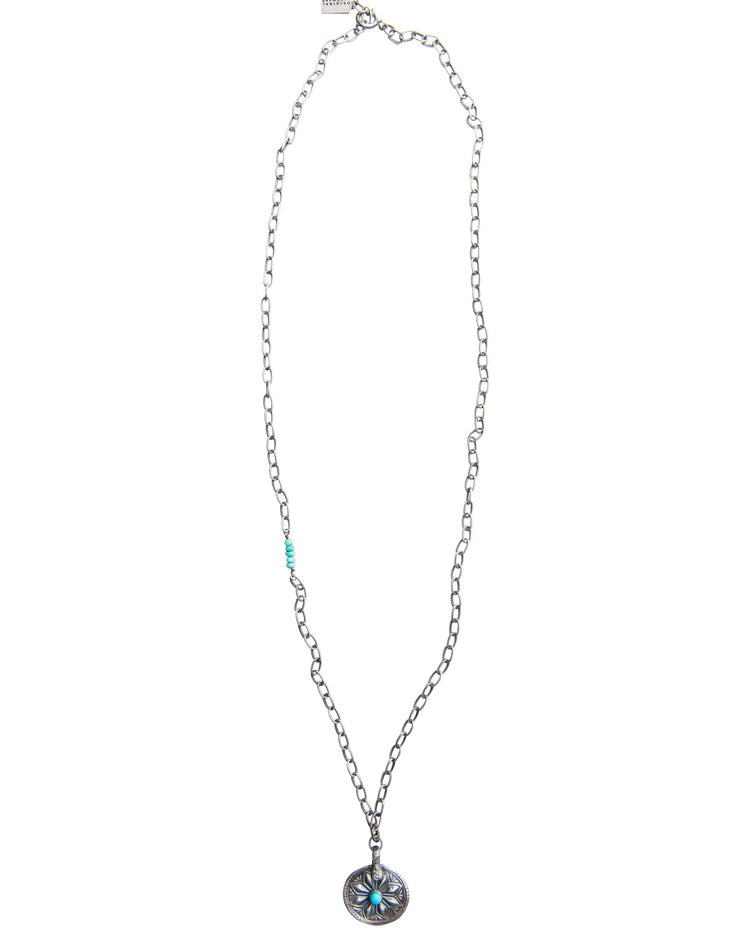 True North Turquoise Large Pendant Necklace