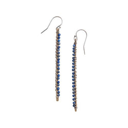 Linea Gemstone Earrings