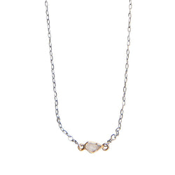 xxxxDiamond Slice Necklace on Chain