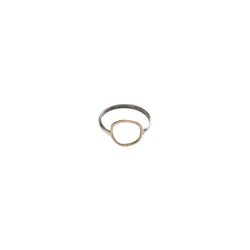 OH7271 - Yellow Bronze Open Circle Ring