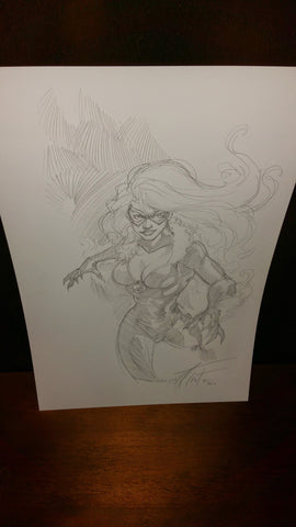 Black Cat Commission #1 by Rod Thornton