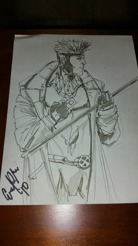 Gambit Sketch by Eroll See