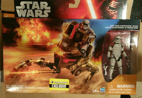 Star Wars Assault Walker With First Order Stormtrooper Officer