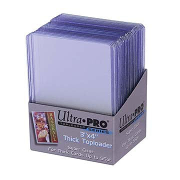 Ultra Pro Thick 75PT Toploader 25ct