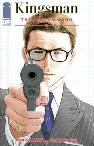 KINGSMAN RED DIAMOND #1 (OF 6) Gold Foil Retailer Appreciation Incentive Variant