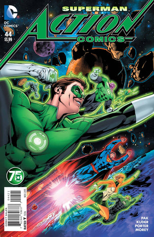ACTION COMICS #44 GREEN LANTERN 75 VARIANT