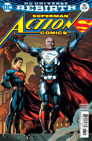 ACTION COMICS #967 VAR ED