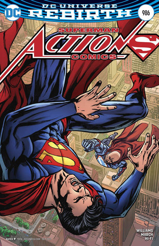 ACTION COMICS #986 VARIANT(2017)