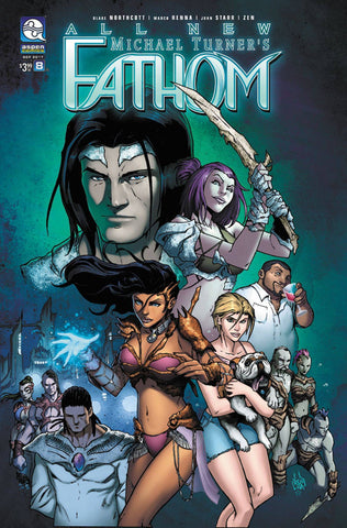 ALL NEW FATHOM #8 CVR A RENNA (2017)