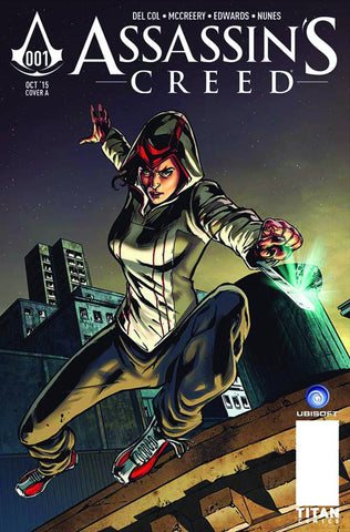 ASSASSINS CREED #1 Neil Edwards Cover