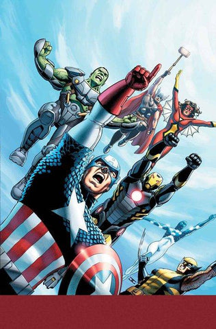 AVENGERS WORLD #1 BY CASSADAY POSTER