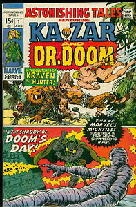 Astonishing Tales Featuring KaZar and Dr. Doom #1