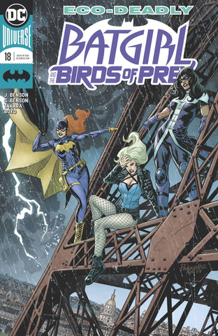 BATGIRL AND THE BIRDS OF PREY #18 (2017)