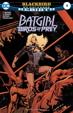 BATGIRL AND THE BIRDS OF PREY #9 (2017)