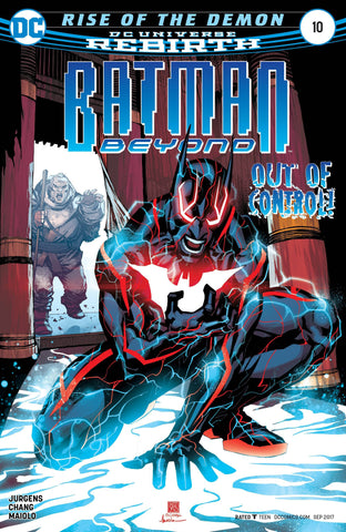 BATMAN BEYOND #10 (2017)