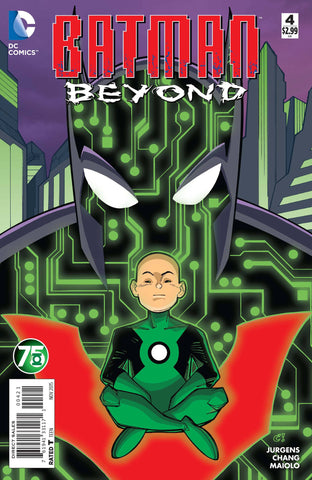 BATMAN BEYOND #4 GREEN LANTERN 75 VARIANT