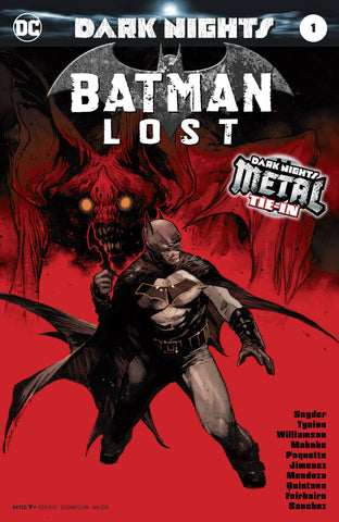 BATMAN LOST #1 (METAL) (2017)