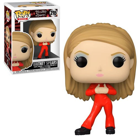 Britney Spears Oops I Did it Again Catsuit Britney Pop! Vinyl Figure