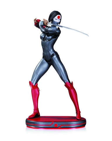DC COMICS COVER GIRLS KATANA STATUE