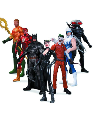 DC COMICS NEW 52 HEROES VS VILLAINS AF 7 PK BOX SET
