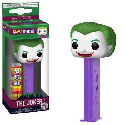 DC Funko POP! PEZ 1966 Joker Candy Dispenser