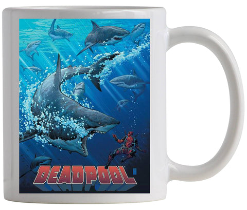 DEADPOOL SHARK TANK PX COFFEE MUG