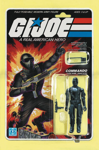 GI JOE A REAL AMERICAN HERO #219 Adam Riches Action Figure Variant Cover