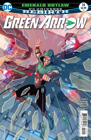 GREEN ARROW #14 (2017)