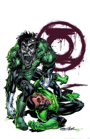 GREEN LANTERN #45 MONSTERS VARIANT