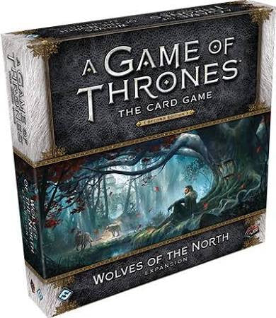 Game of Thrones Card Game Wolves of the North Expansion 2nd Edition