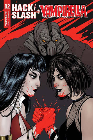 HACK SLASH VS VAMPIRELLA #2 (OF 5) CVR A IHDE (2017)
