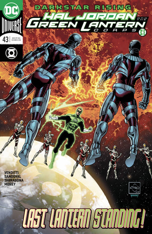 HAL JORDAN AND THE GREEN LANTERN CORPS #43 (2018)