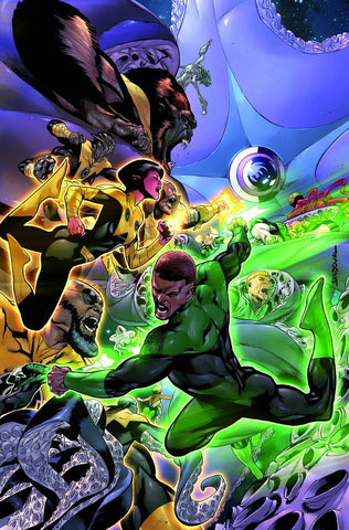 HAL JORDAN AND THE GREEN LANTERN CORPS #9 (2016)