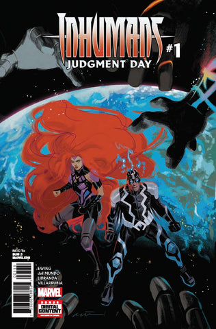 INHUMANS JUDGMENT DAY #1 (OF 1) LEG (2017)