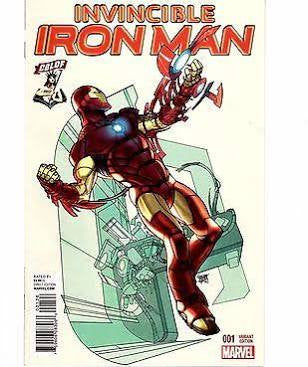 Invincible Iron Man #1 CBLDF Variant