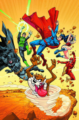 JUSTICE LEAGUE OF AMERICA #5 LOONEY TUNES VARIANT