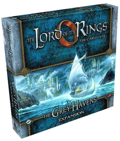 LORD RINGS LCG THE GREY HAVENS DELUXE EXP (C: 0-1-2)