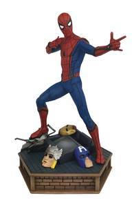 MARVEL PREMIERE SPIDER-MAN HOMECOMING STATUE (C: 1-1-2)