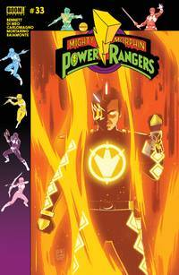 MIGHTY MORPHIN POWER RANGERS #33 PREORDER GIBSON VAR (2018)